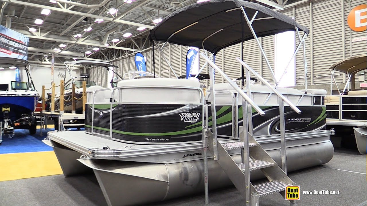 2015 legend splash plus pontoon boat walkaround 2015 for Splash pool show quebec