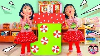 หนูยิ้มหนูแย้ม | วางถุงเท้าคริสต์มาสยักษ์ ให้ซานตาคอสแจกของขวัญ