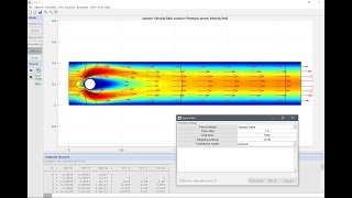 MATLAB CFD Simulatie Tutorial - Stroming Rond een Cylinder | FEATool Multifysische