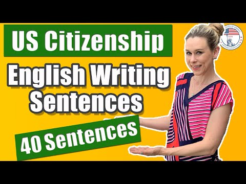 2020 US Citizenship Interview English Writing Test Official Vocabulary | USCitizenshipTest.org