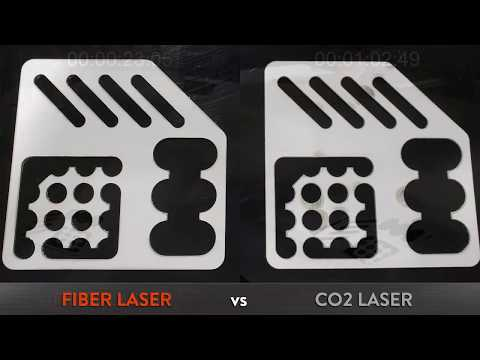 Amtex Precision Fabrication - Fiber Laser Demo