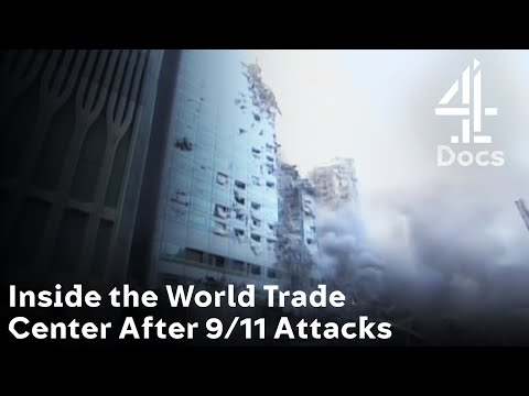 Chilling Footage Inside the World Trade Center Right After 9/11 Attacks