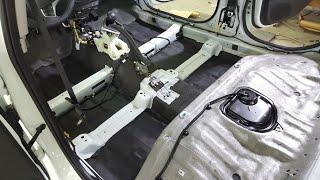 Шумоизоляция салона нового Hyundai Solaris. Обзор штатной шумоизоляции