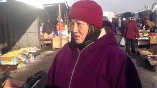 Фото интервью  продавцов рынка Алтын Орда часть 1