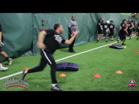 Cameron Richardson 2018 Elite Big Man Camp Highlights