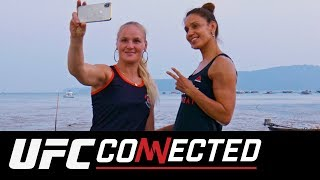 UFC Connected Valentina and Antonina Shevchenko, Molly McCann, Fight Night London