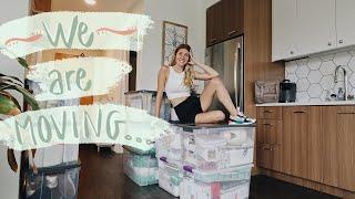 Pack with me bc we're moving again.... | Kiara Madisen