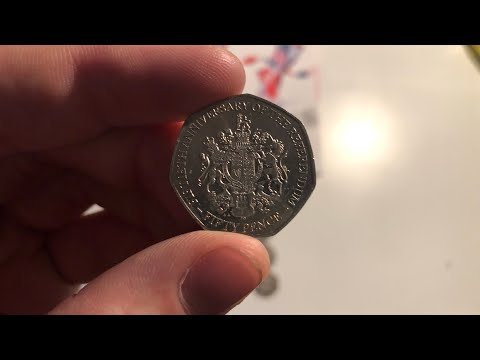 WE FOUND 2 RARE GIBRALTAR 50p COINS!!! - FILLING A 50P OLYMPIC ALBUM #14 - £250 IN 50P COINS