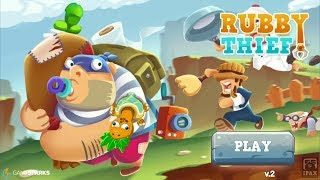 RubbyThief: Extreme (Mission 1 - 12) - Born to be a good thief Gameplay | Android Arcade Game