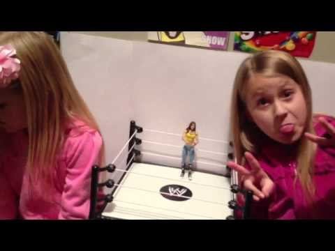 The Little Grimmette Show: AJ Figures! Brock Lesnar! Woody From Toy Story And MORE!