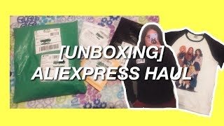 [UNBOXING] ALIEXPRESS HAUL