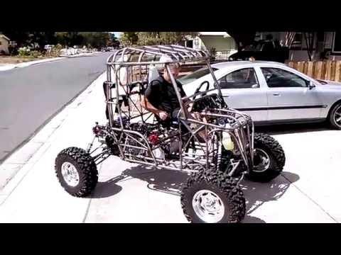 Honda 650 Quad converted into a Buggy