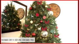 Vlogmas Day 8: Our 2nd Christmas Tree