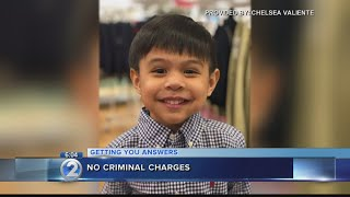 Attorney general: No criminal charges after child severely injured at daycare