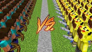 ISMETRG ORDUSU VS NOOB ORDUSU! 😱 - Minecraft
