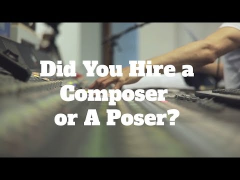 Composer or Poser? How to Tell The Difference?
