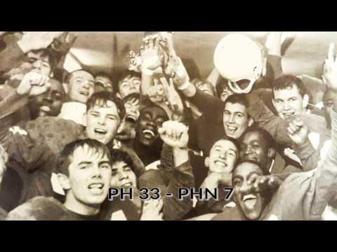 Port Huron High School Football vs Port Huron Northern 1966