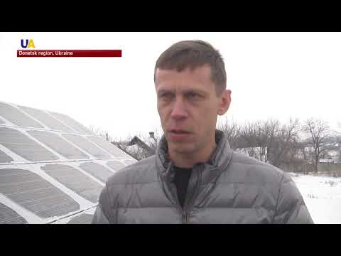 Producing Alternative Energy Initiative: Solar Power Plant in The Donetsk Region