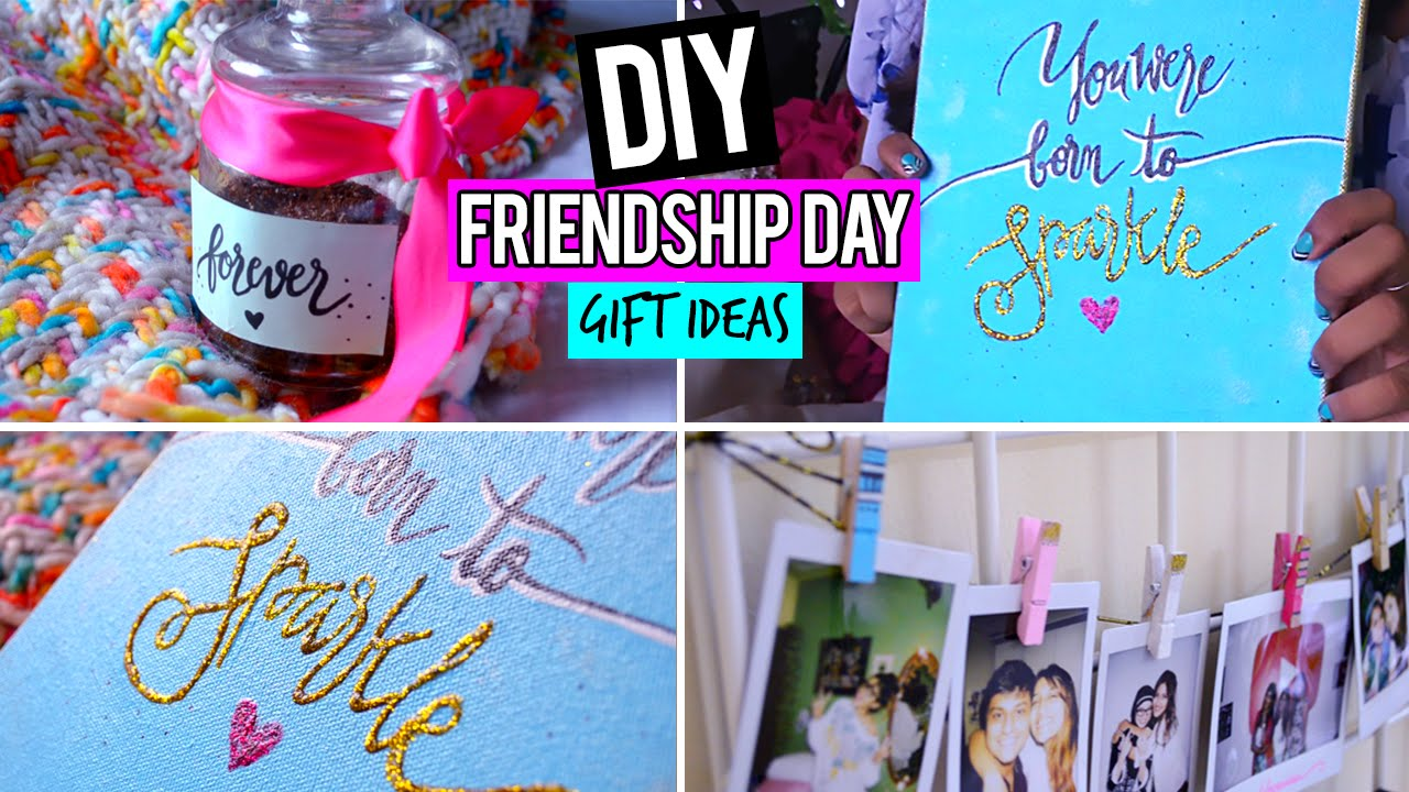 craft ideas for gifts for friends diy easy friendship day gift ideas 7570