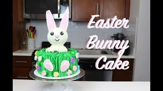 Easter Bunny Cake | CHELSWEETS
