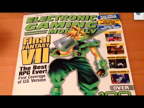 ASMR old video game magazines: Part 2