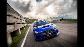 Subaru STI Type RA Time Attack Car & the Transfăgărășan Highway