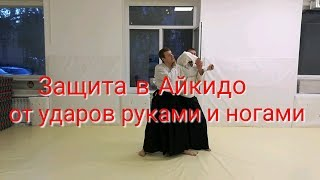 Aikido vs two punches and kick