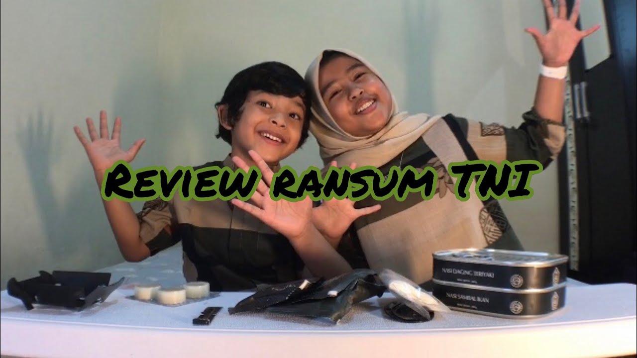 Review + unboxing ransum TNI