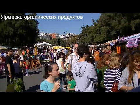 Ярмарка органических продуктов питания в Буэнос-Айресе. Аргентина.