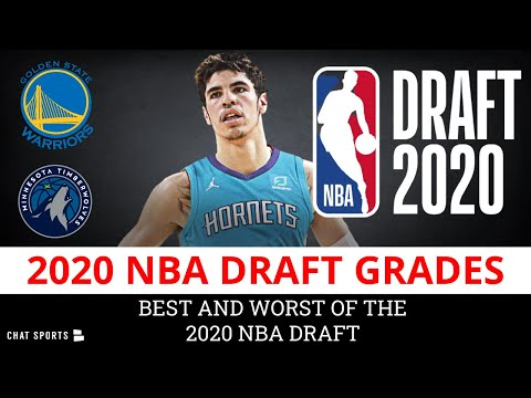 NBA Draft Grades For All 30 Teams - 2020