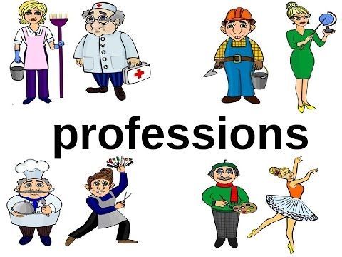 Английский детям. Профессии на английском языке. Professions. English For Kids. Learn Professions.