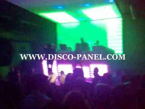 LED Ceiling Nightclub LED Lighting DMX 512 Software Disco Club Lights