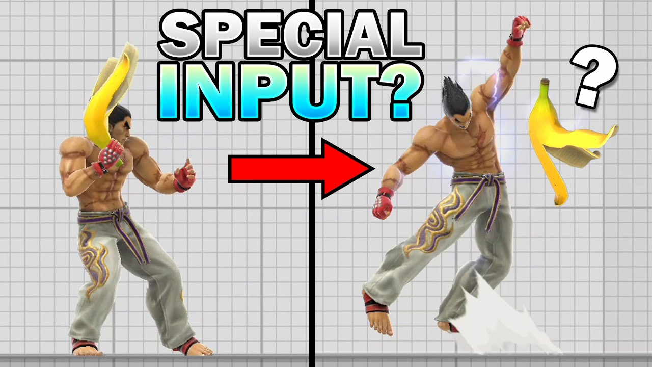 Can Kazuya Do Input Moves While Holding An Item? [SMASH REVIEW 128]