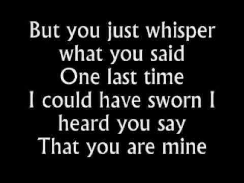 The Fray - Be The One - Lyrics - YouTube