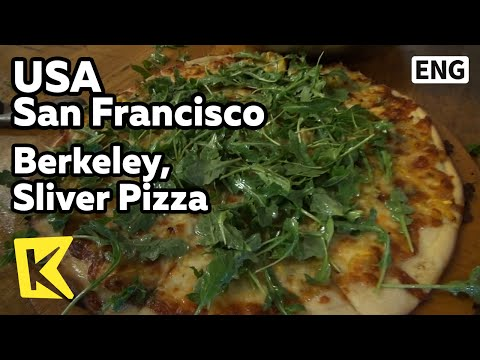 【K】USA Travel-San Francisco[미국 여행-샌프란시스코]버클리 대학가 명물, 오늘의 피자/Berkeley/University/Sliver Pizza