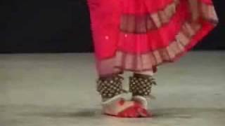 Kuchipudi - Hema Plate Dance.wmv