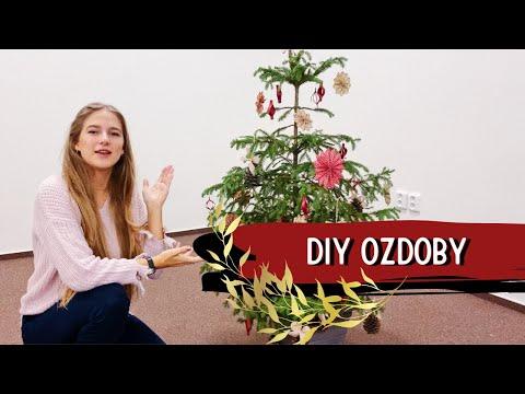 Jak si vyrobit vlastní ozdoby na stromeček