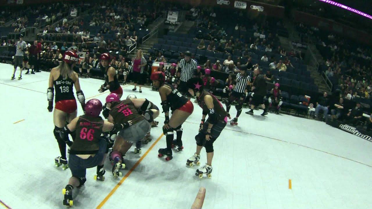Roller skating denver - Shotgun Betties Vs Bad Apples Denver Roller Dolls Roller Derby In Broomfield Co 09 15 12 2nd Half