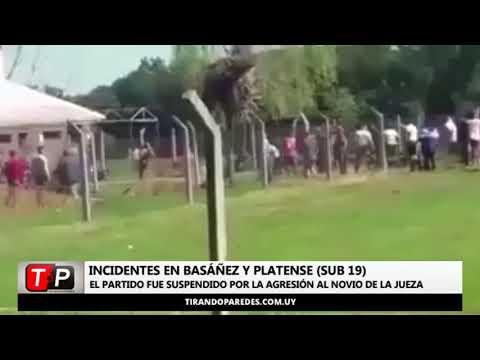 No hay fútbol por incidentes en Basáñez y Platense (Sub-19)