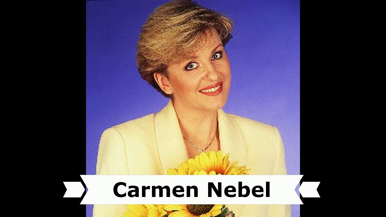 Carmen Nebel Weihnachtliche Tv Ansage Im Ddr Fernsehen