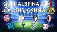 FIFA Champions League & Europa League 2018 | Halbfinale | Auslosung | Marcsarpei
