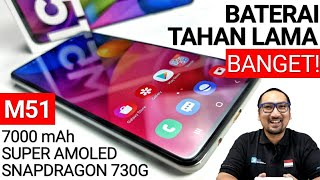HP Baterai Terawet, Kencang utk Gaming: Review Samsung Galaxy M51 feat UNIQLO AIRism Mask