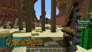 Minecraft|Cowboys and Indians|Ep:4 Speedy always wins...