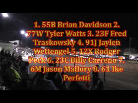 Salina Speedway M&H Motors IMCA Northern SportMods 9-15-17