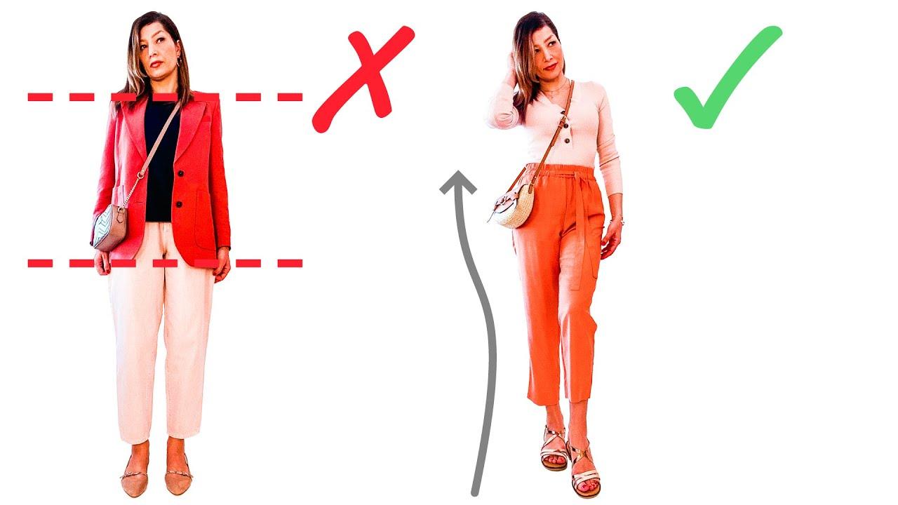 größer & schlanker aussehen in flachen schuhen | petite fashion life hacks  | sponsored video