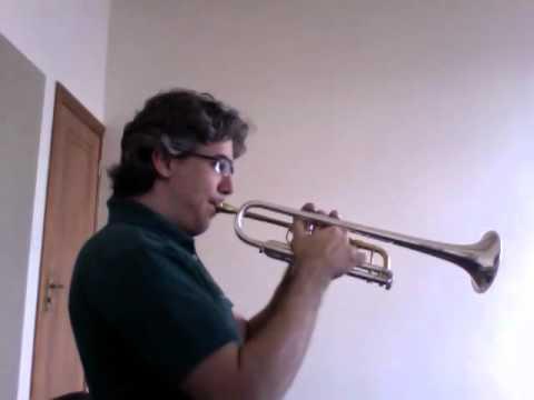 CONCONE - Lyrical Studies for trumpet - N. 14 - Allegro vivace
