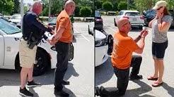 Florida Man Fakes Arrest to Propose to His Girlfriend