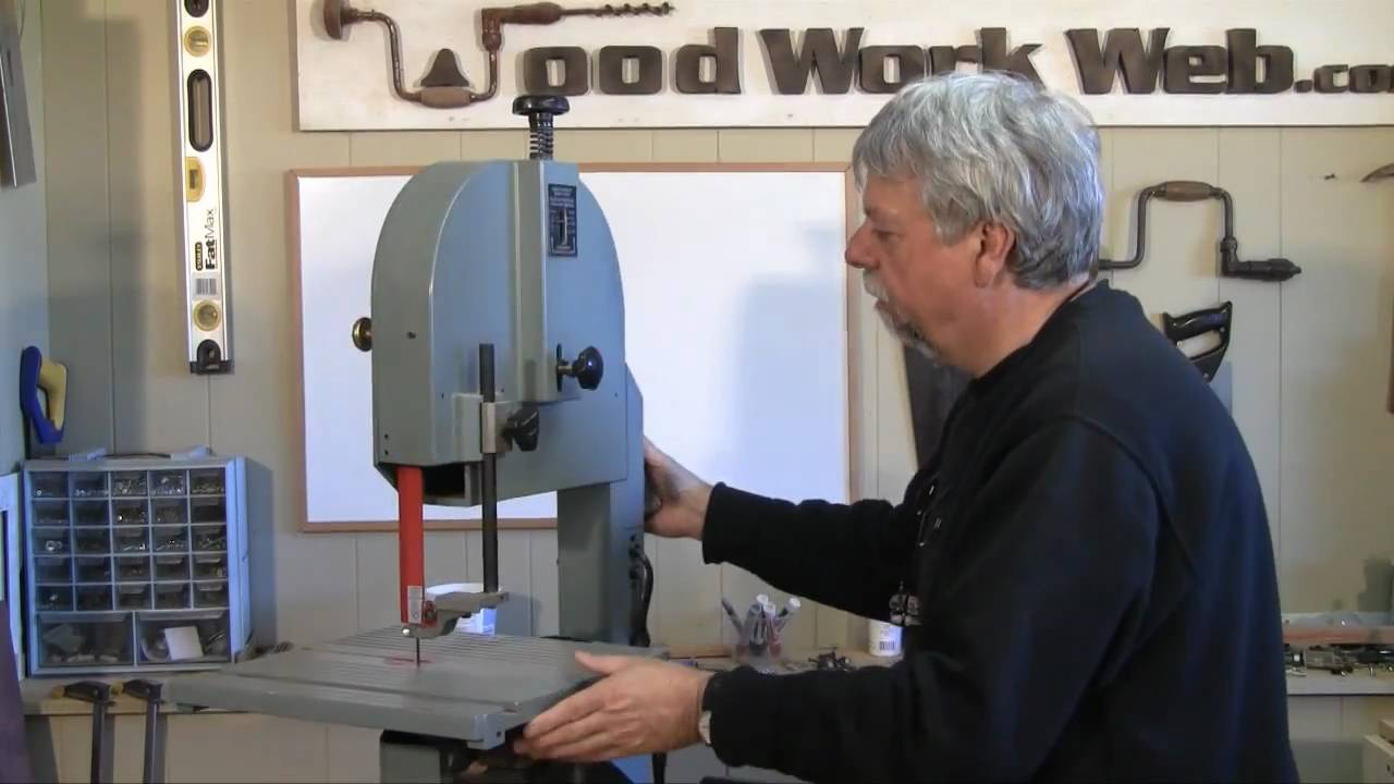 Woodworking band saw setup and tuneup youtube greentooth Gallery