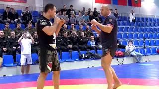 УДАРЫ ФЕДОРА ЕМЕЛЬЯНЕНКО (striking by Fedor Emelianenko) ! Семинар Союза MMA.  Часть 1