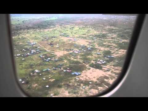 UNHAS flight Aweil - Juba (South Sudan)